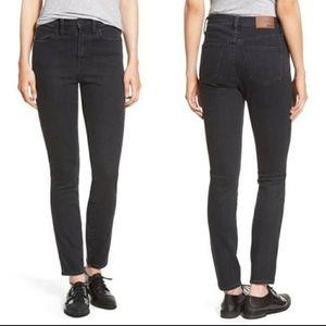 Madewell Skinny Skinny Jeans Faded Black sz 28